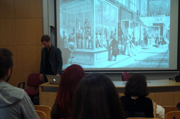 Lecture by U.S. Fulbright Scholar Eric Anderson