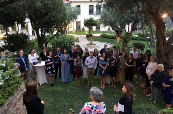 Education Destination Greece: Welcome Orientation for the 2018-2019 U.S. Fulbright Fellows