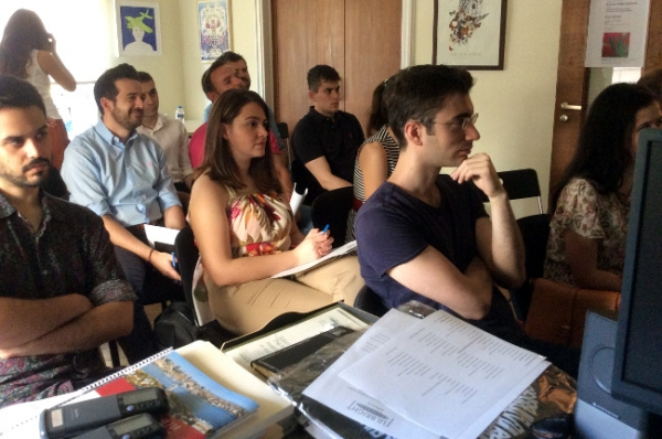 Pre-Departure Orientations for Greek Grantees