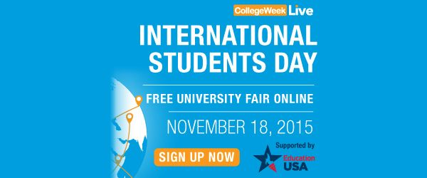 International Students Day, A Virtual US College Fair supported by the US Department of State