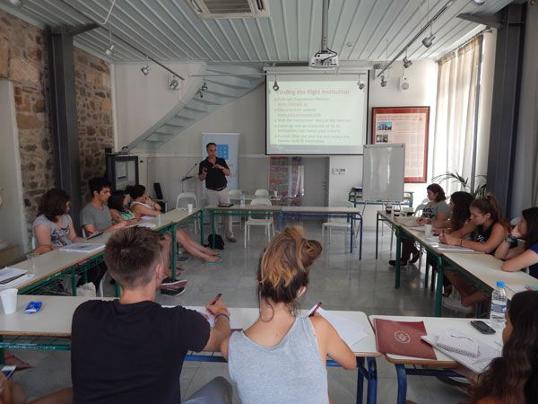 U.S. Undergraduate Studies Outreach at the Center for Hellenic Studies at Nafplio