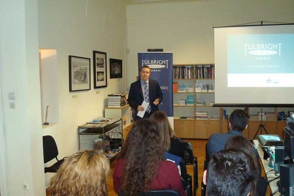 Graduate Group Session and Student Visas at the Fulbright office in Athens