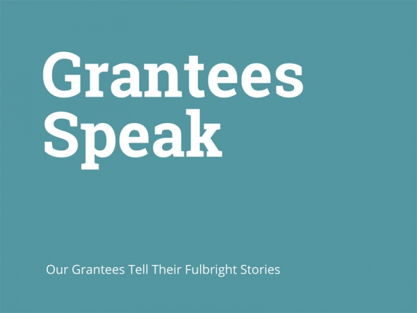 Grantees Speak!—In the Words of Our Greek and US Grant Recipients
