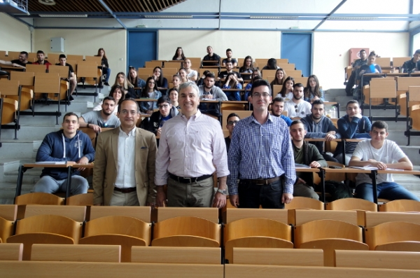 Intercountry Lecturing Award Recipient visits DUTH Komotini