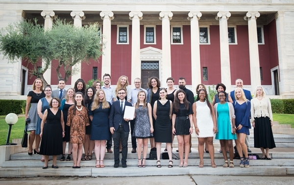 Fall Orientation: 2019-2020 U.S. Fulbrighters to Greece
