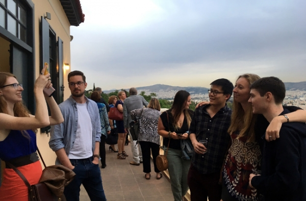 U.S. and Greek Fulbright Alumni Get-Together and Outreach to NTUA